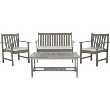 Polly 4 Piece Seating Group with Cushion