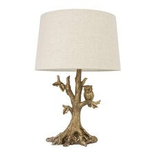 """27.75"""" H Table Lamp with Empire Shade"""