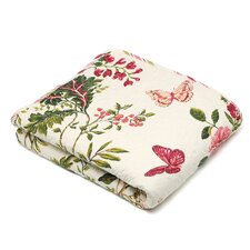Arielle Quilted Cotton Throw Blanket