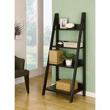 """Caitie 61"""" Accent Shelves Bookcase"""