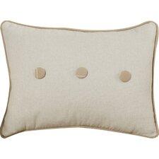 Marni Stripe and Button Cotton Lumbar Pillow