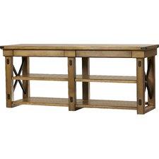 Irwin Rustic Wood TV Stand