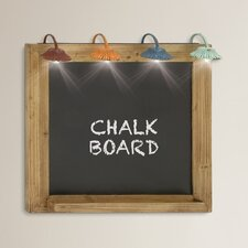 Halliday Light Wall Décor Chalkboard