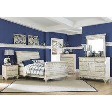 Mertie Sleigh 4 Piece Bedroom Set