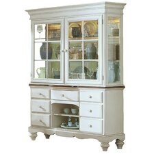 Mertie Solid Pine China Cabinet