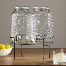 Isabell Rooster 3 Piece Beverage Dispenser Set