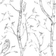 Nome Gray Woods Peel And Stick Wallpaper