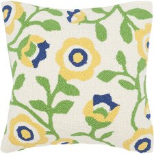 Garnett Floral Indoor Outdoor Decorative Polypropelene Throw Pillow (Set of 2)