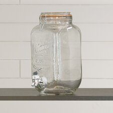 Funston 5.7L Glass Beverage Dispenser with Tap