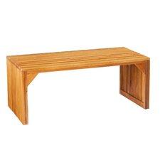 Exie Slat Bench