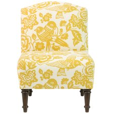 Dickinson Camel Back Side Chair