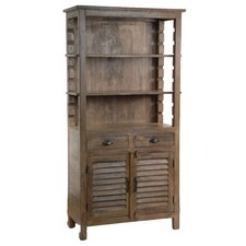 "Bengal Manor Mango Wood 72"" Standard Bookcase"
