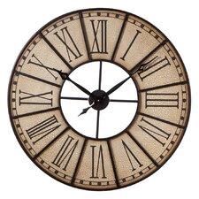 "31"" Crackle Finish Wall Clock"