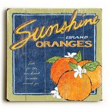 Sunshine and Oranges Wall Art