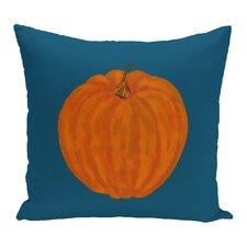 Ivy Lil Pumpkin Holiday Outdoor Throw Pillow