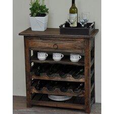 Torrington Shabby Elegance 8 Bottle Floor Wine Rack