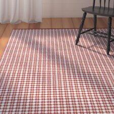 Mollie Hand-Woven Red Indoor/Outdoor Area Rug