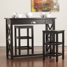 Pelham 3 Piece Pub Table Set