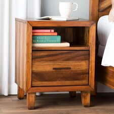 Kevin 1 Drawer Nightstand