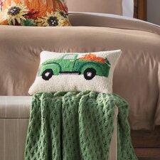 Fall Truck with Pumpkin Hook Pillow
