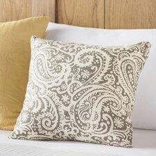 Francisca Paisley Linen Throw Pillow
