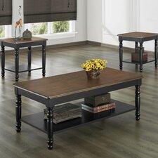 Frona 3 Piece Coffee Table Set