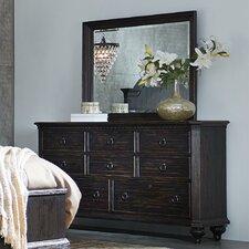 Rafeala 8 Drawer Dresser with Mirror