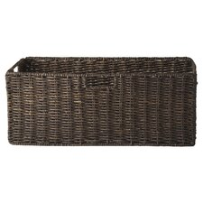 Foldable Large Corn Husk Basket (Set of 2)