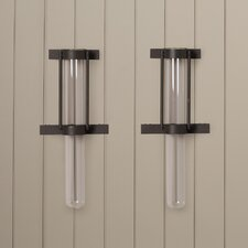 Gabriella Tube Wall Vase (Set of 2)
