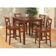 Mathys 5 Piece Counter Height Pub Table Set