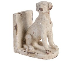 Letha Dog Book End (Set of 2)