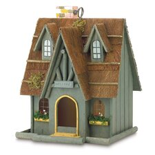 Luetta Fairytale Cottage Hanging Birdhouse