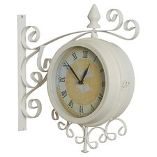 "Bridger 15"" Outdoor Wall Mounted Double Clock"