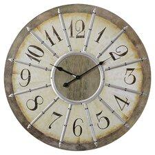 "Donovan Oversized 23"" Wall Clock"