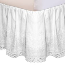 Morissette Embroidered Bed Skirt