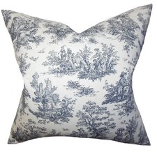Leflore Cotton Toile Throw Pillow