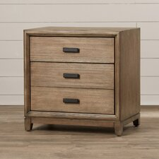 Camilla 3 Drawer Nightstand