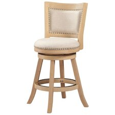 "Hettinger 24"" Swivel Bar Stool"
