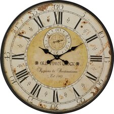 "Oversized 31"" Round Wall Clock"