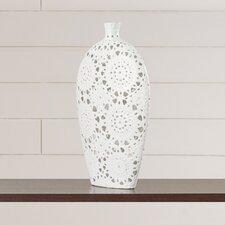 Floral Pierced Vase
