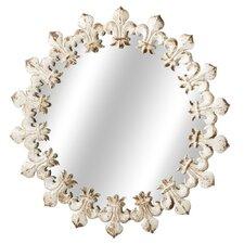 Fleur de Lis Wall Mirror