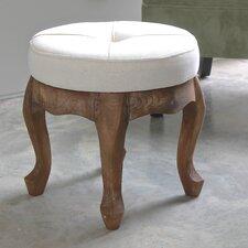 Matisse Rustic Elegance Sage Round Tufted Stool