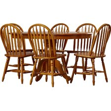 Leonora 7 Piece Dining Set