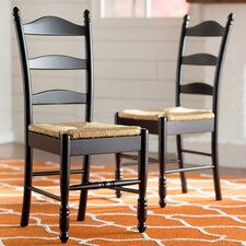 Leonora Ladder Back Side Chair (Set of 2)