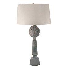 "Anglemont Earthenware Pineapple Top Ceramic LED 30"" Table Lamp"