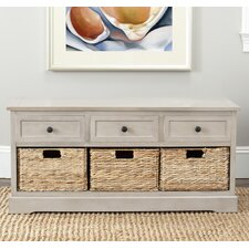 McKinley 3 Drawer Storage Entryway Bench