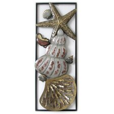 Seashells and Starfish Wall Art