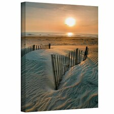 Sunrise Over Hatteras by Steve Ainsworth Photographic Print on Wrapped Canvas