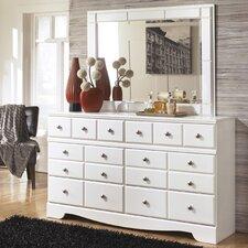 Carrabassett 6 Drawer Dresser with Mirror