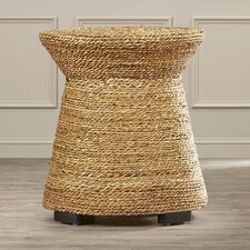 Wrightsville Wicker End Table